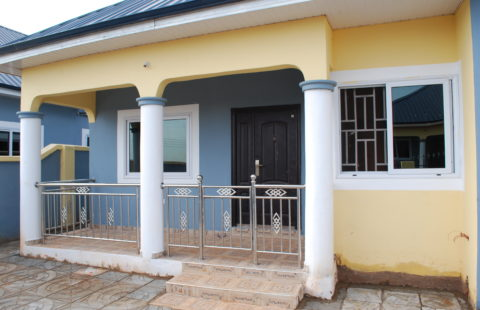 Copping Laid Jointly on The Fence Wall – <b>Page</b> 3 – Adom City Estate.